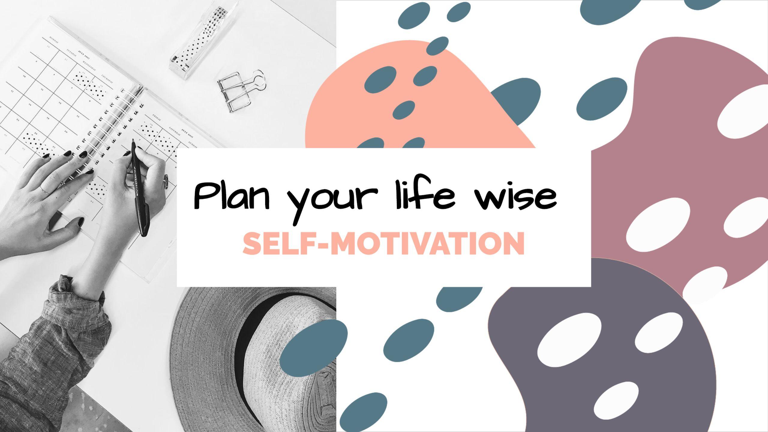 Self-Motivation Youtube Channel Art Template