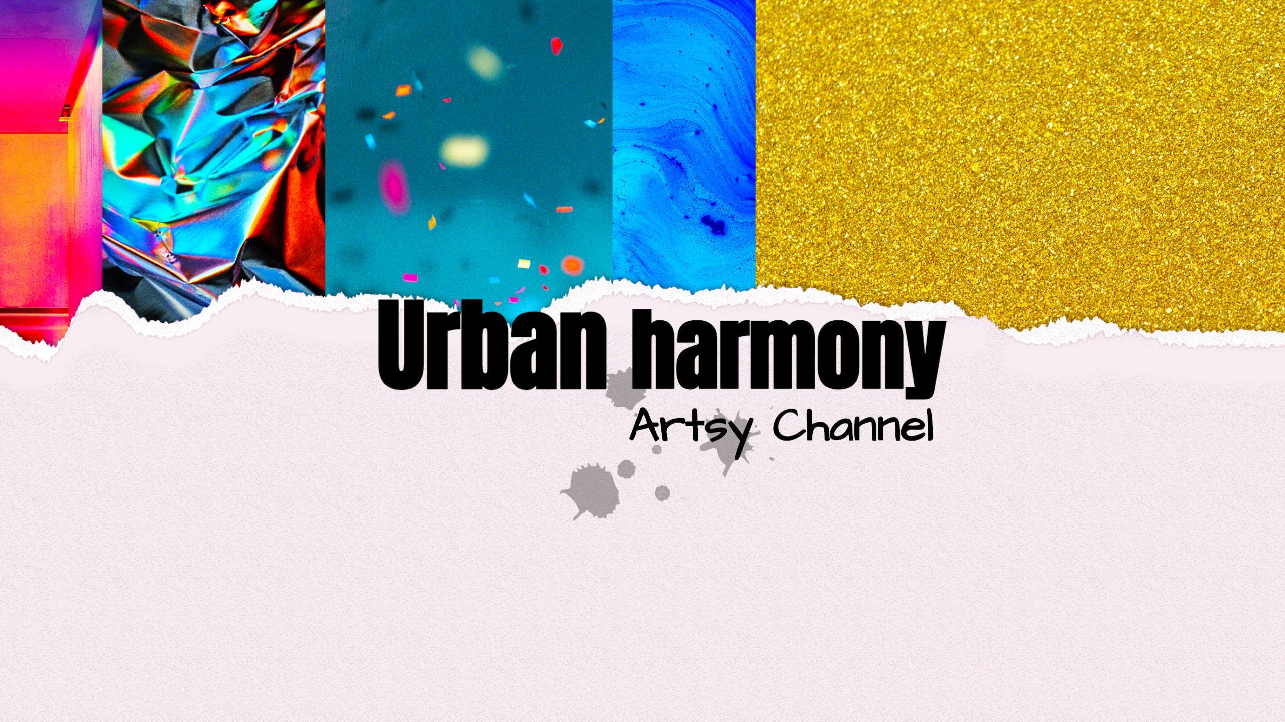 Artsy Youtube Channel Art Template