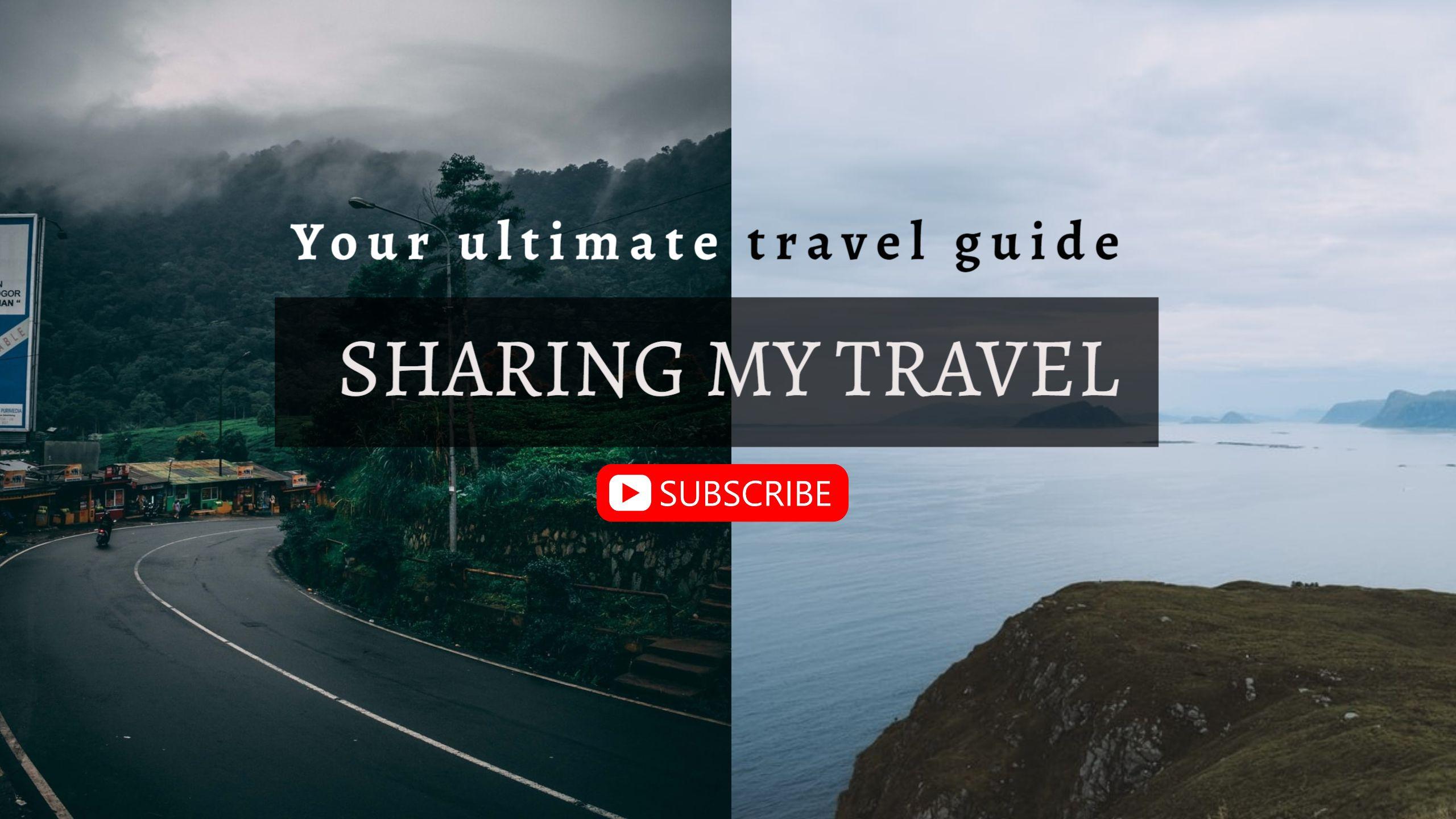Travel Vlog Youtube Channel Art