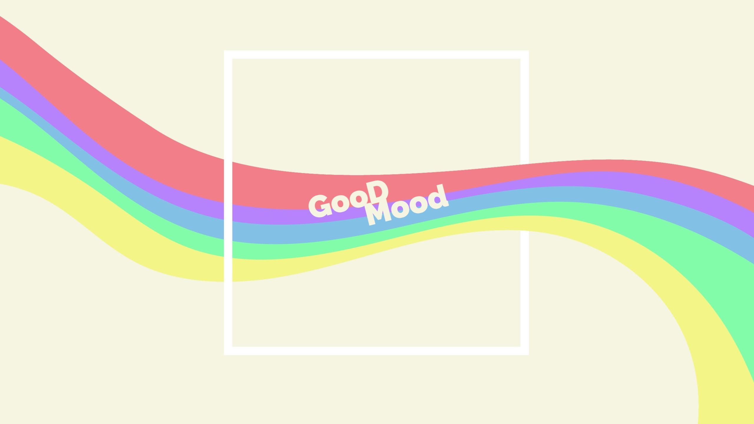 Rainbow Youtube Channel Art Template