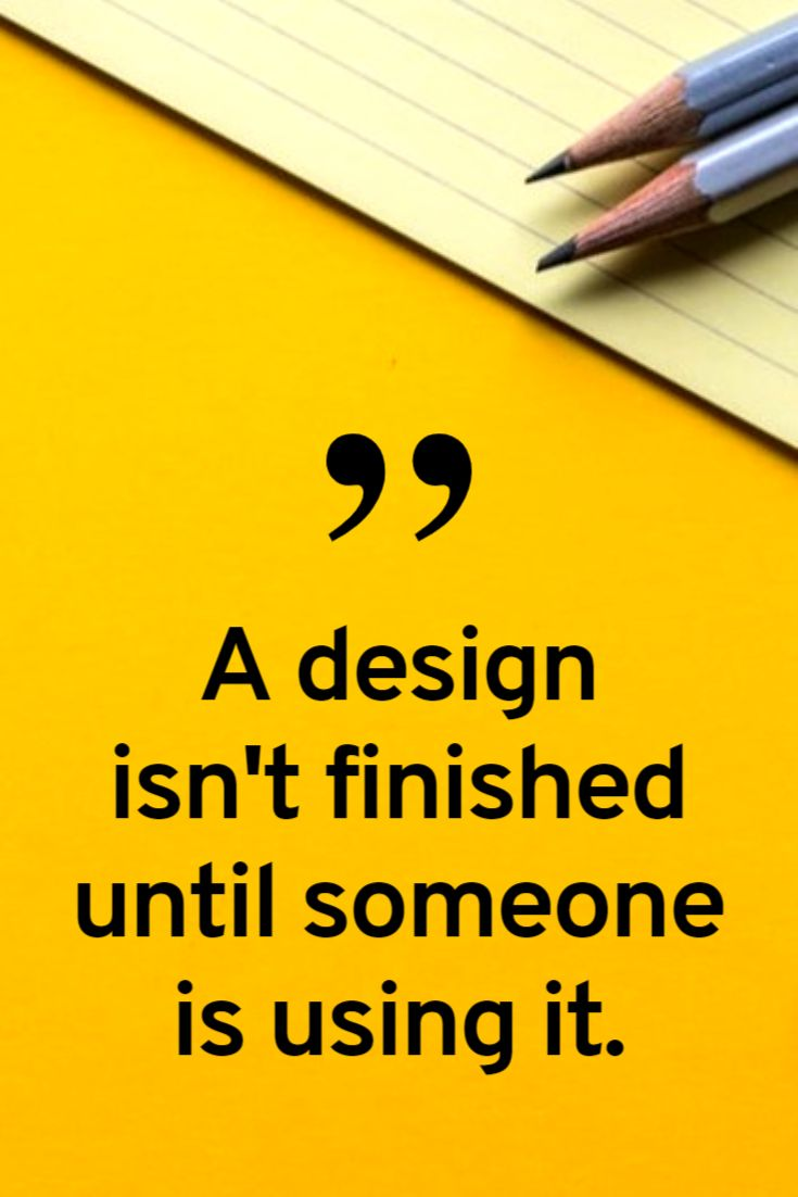 Design Quote Pinterest Pin Template