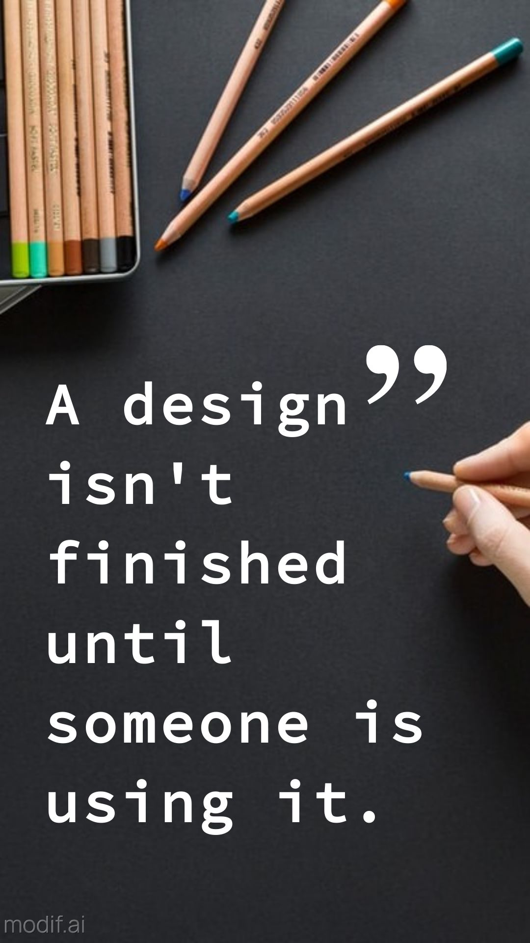 Design Quote Instagram Story Template