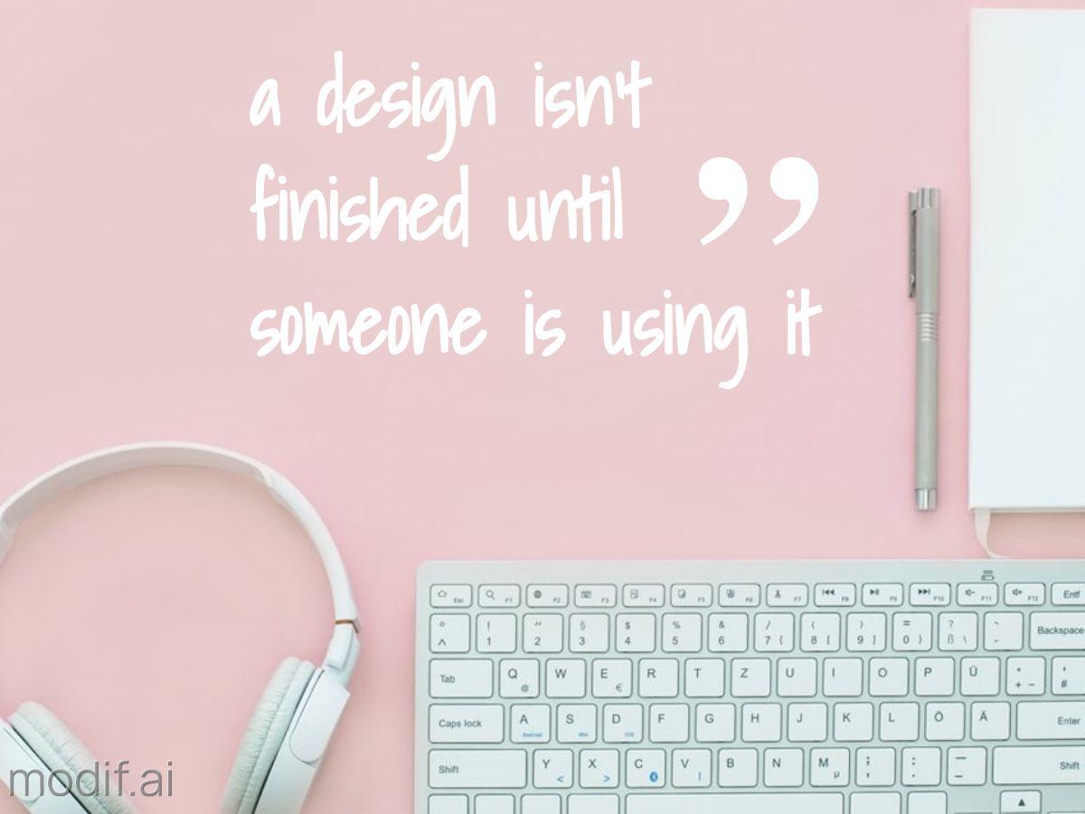 Design Quote Facebook Post Template