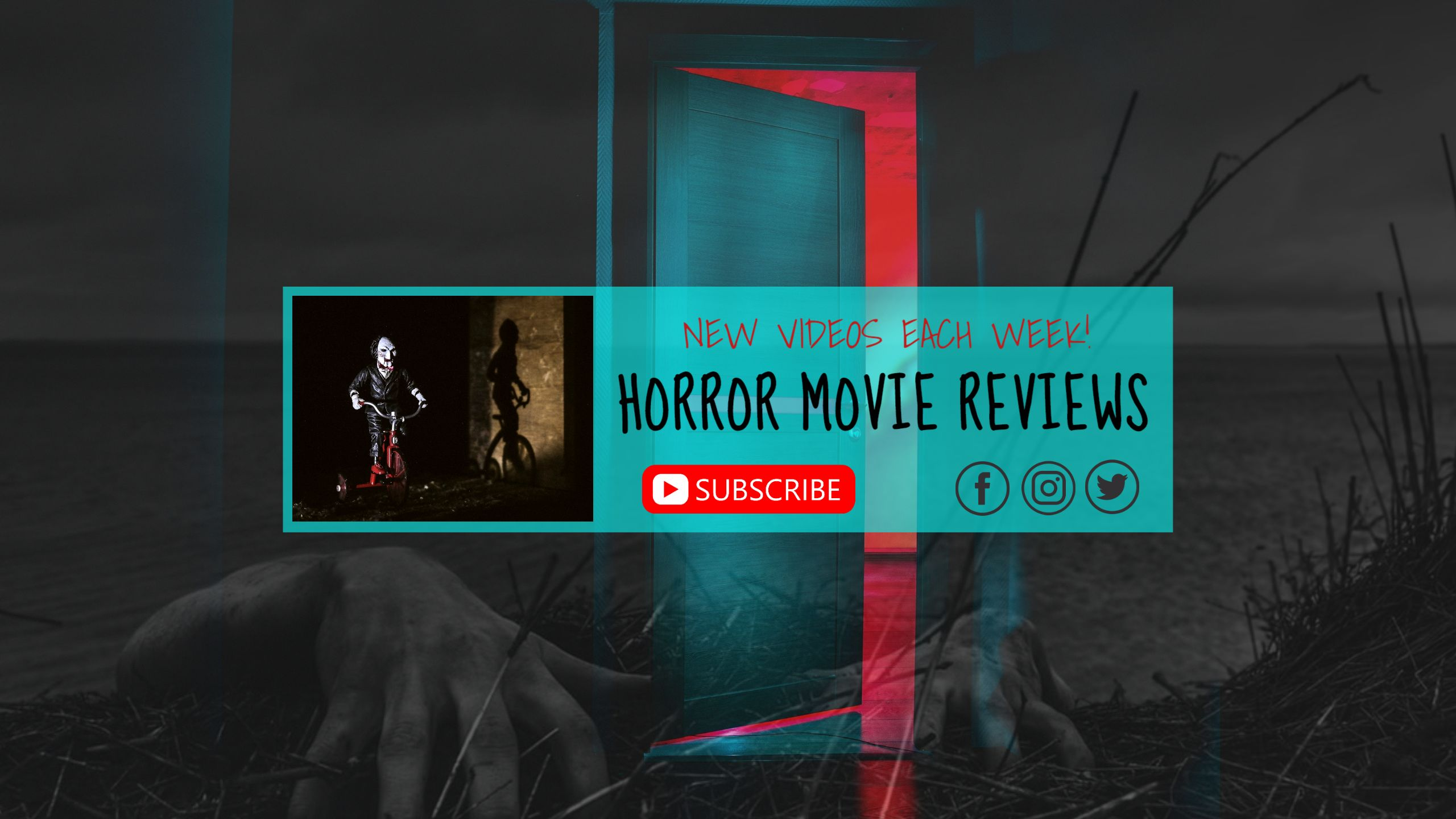 Movie Review YouTube Channel Art