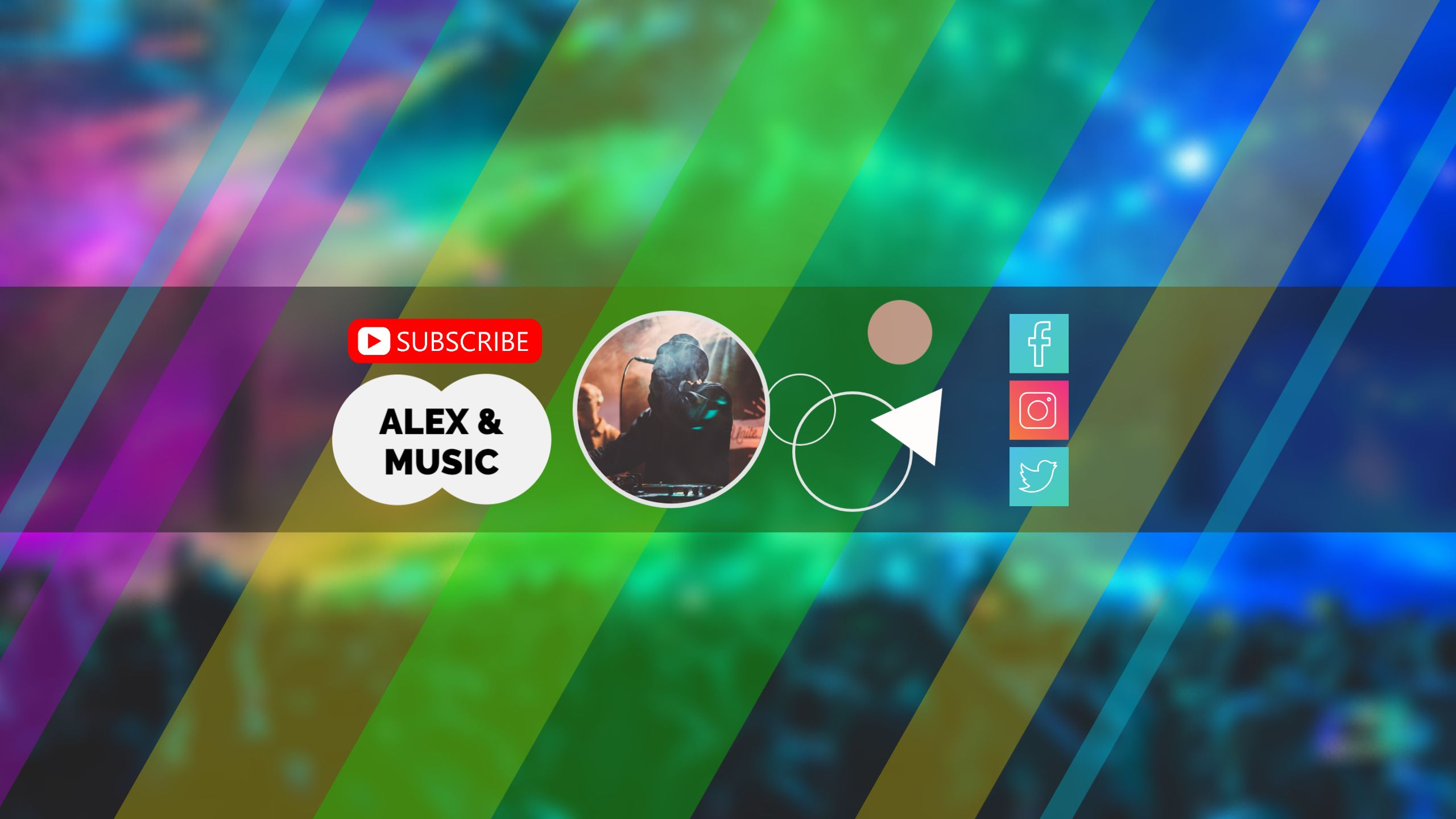 Music and Song YouTube Channel Art