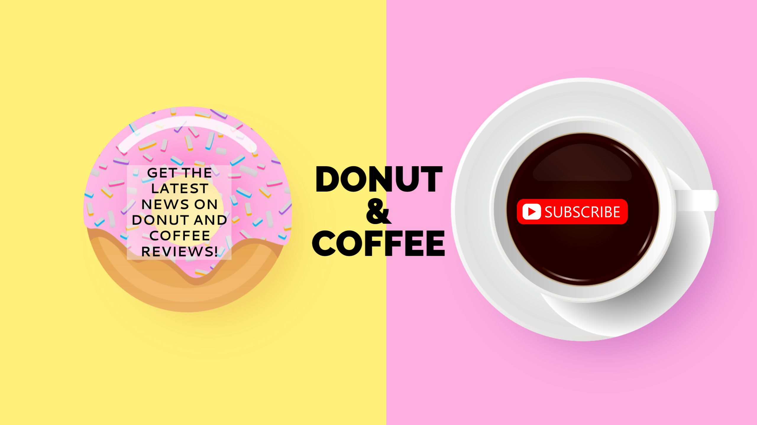 Food Review Youtube Channel Art