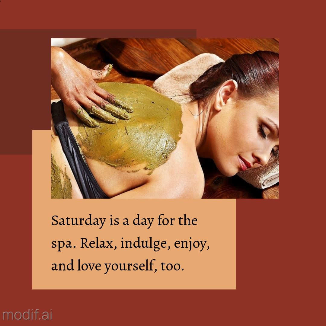 Spa Day Instagram Post Template