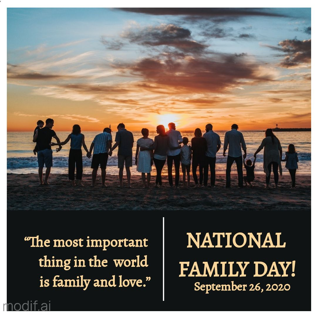 National Family Day Instagram Post