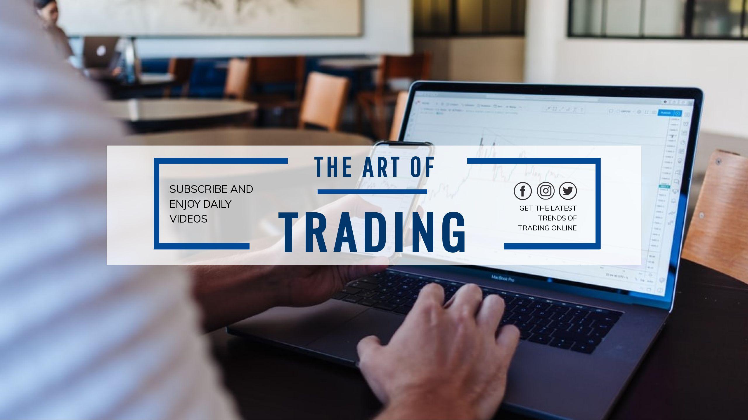 Online Trading Youtube Cover Maker
