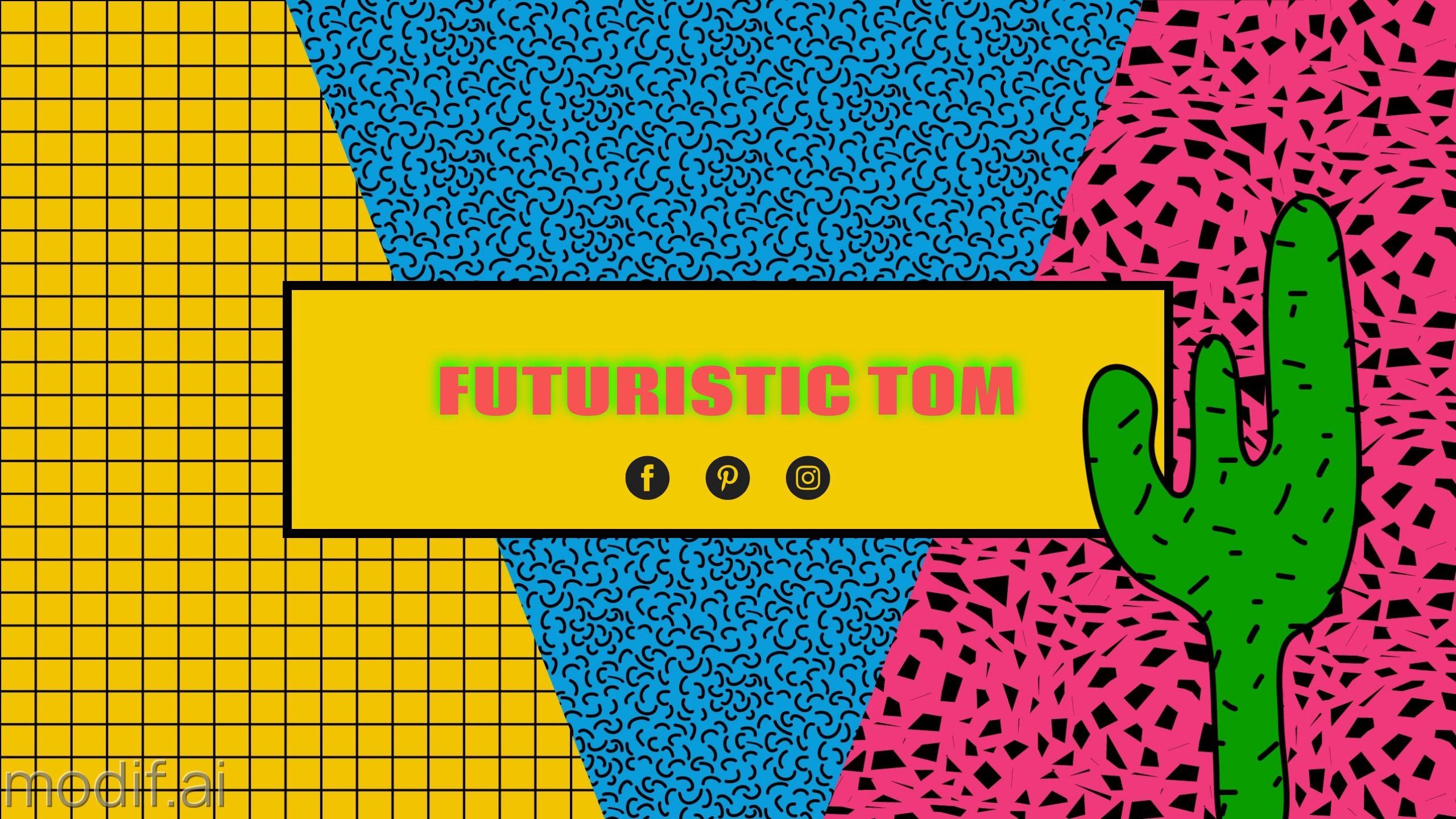 Pop Art Youtube Cover Banner