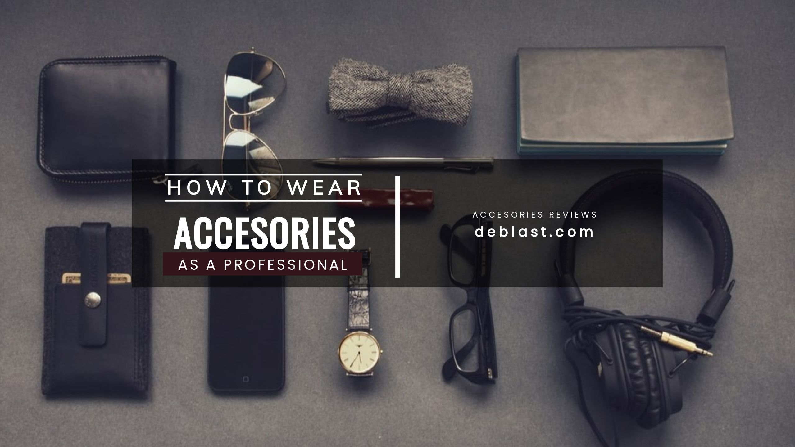 Accessories Reviews Youtube Channel Template