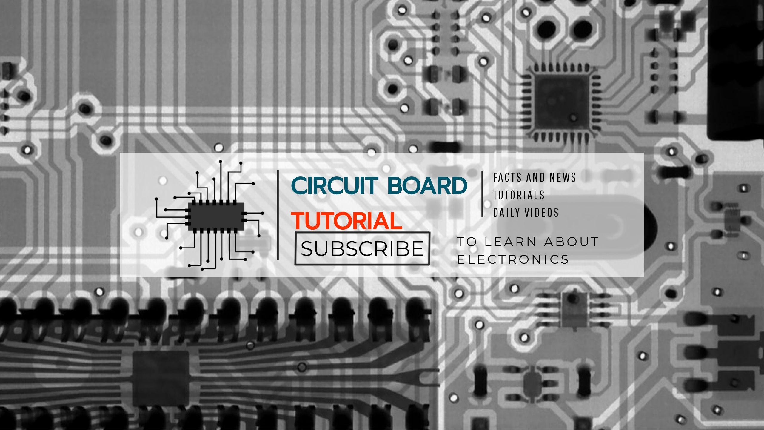Electronics Tutorial Youtube Channel Art