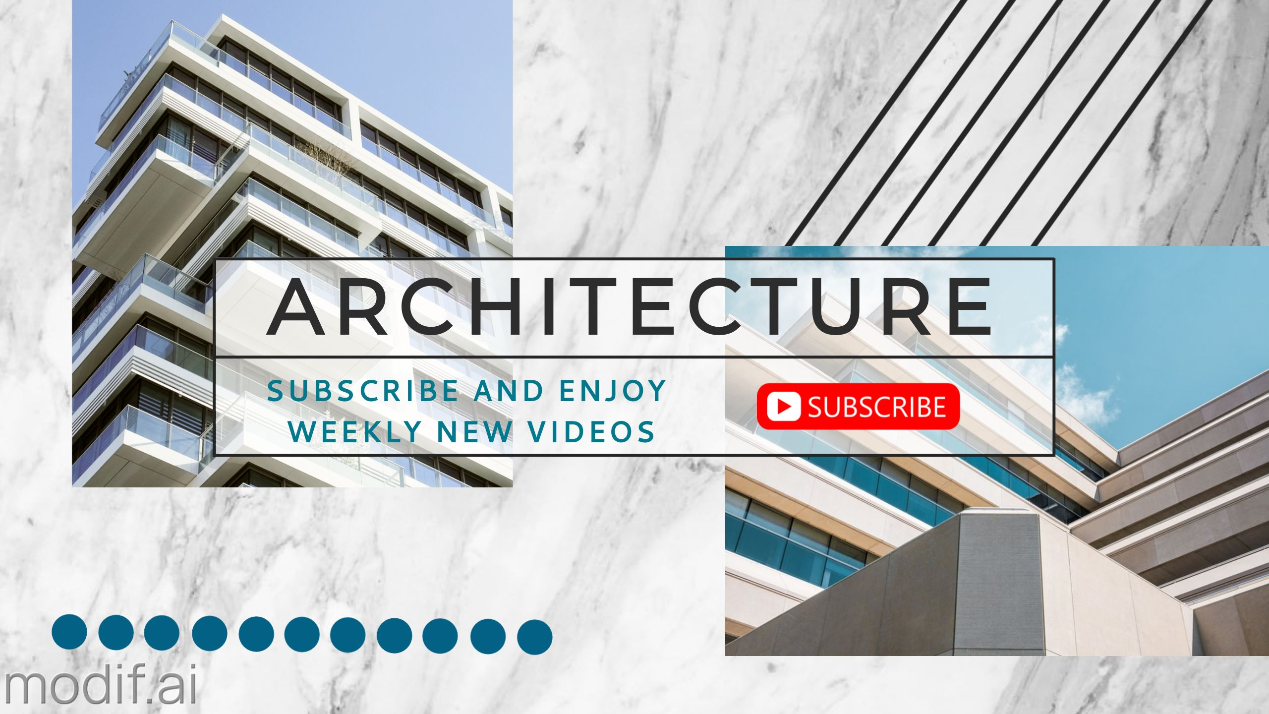 Architecture and Landmark Youtube Banner