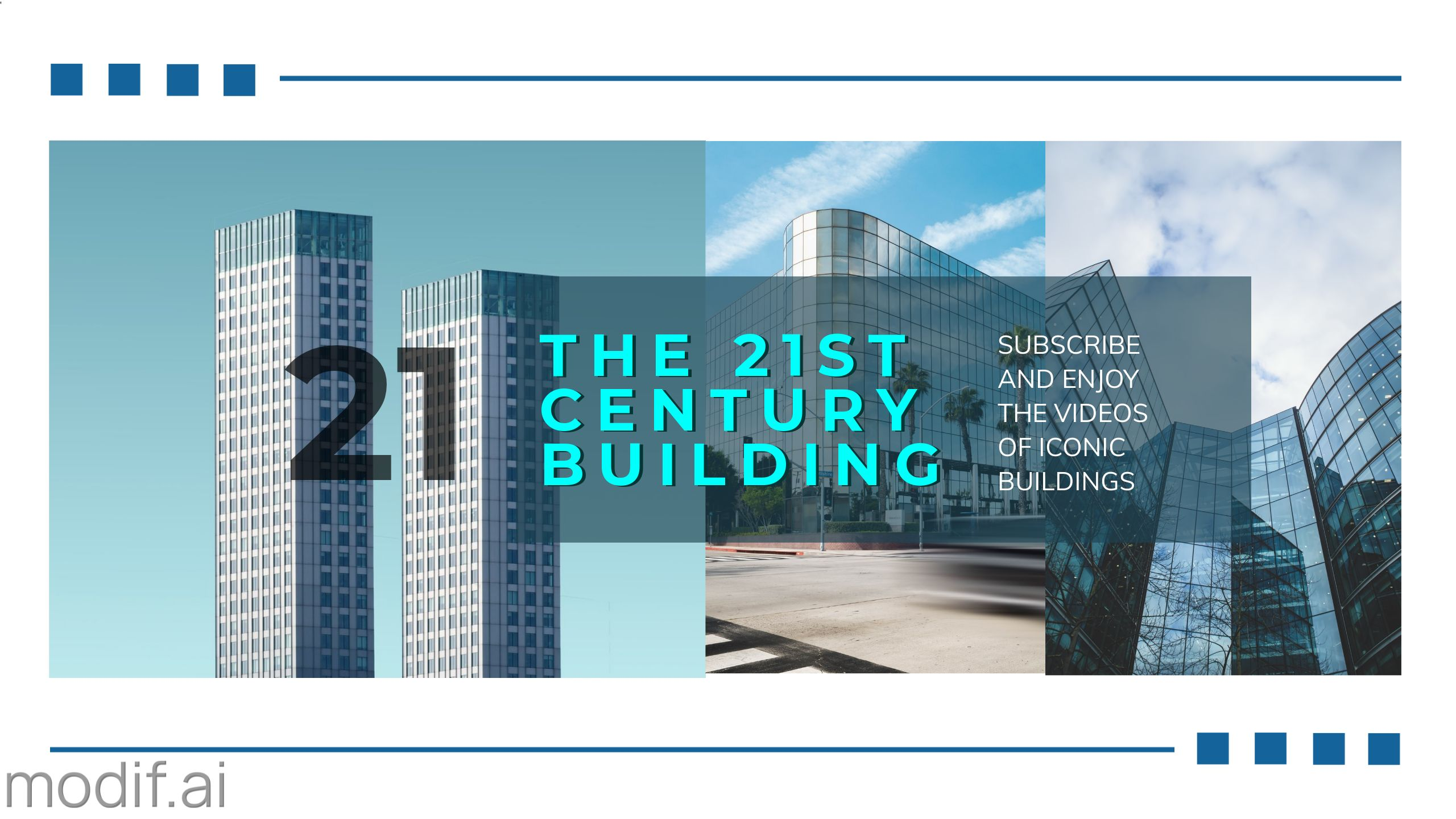 Modern Building Youtube Cover Template