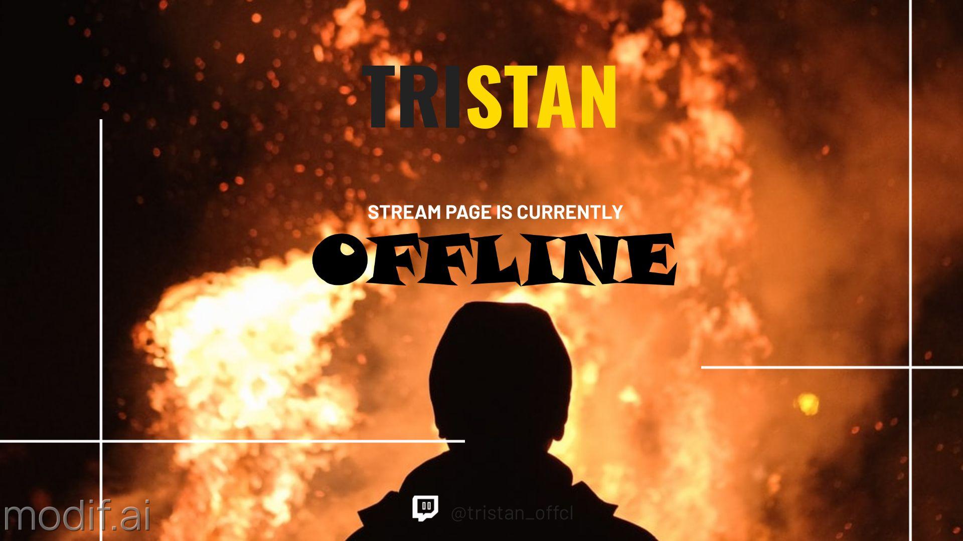 Fire Themed Twitch Banner Maker