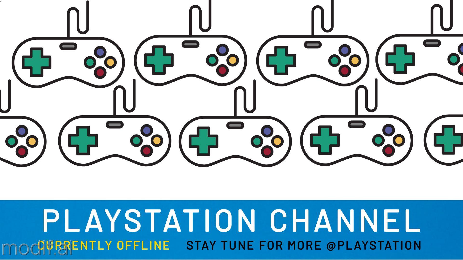 PlayStation Twitch Offline Banner