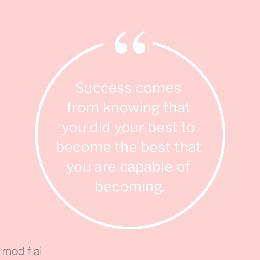 Success Quote Instagram Post Template