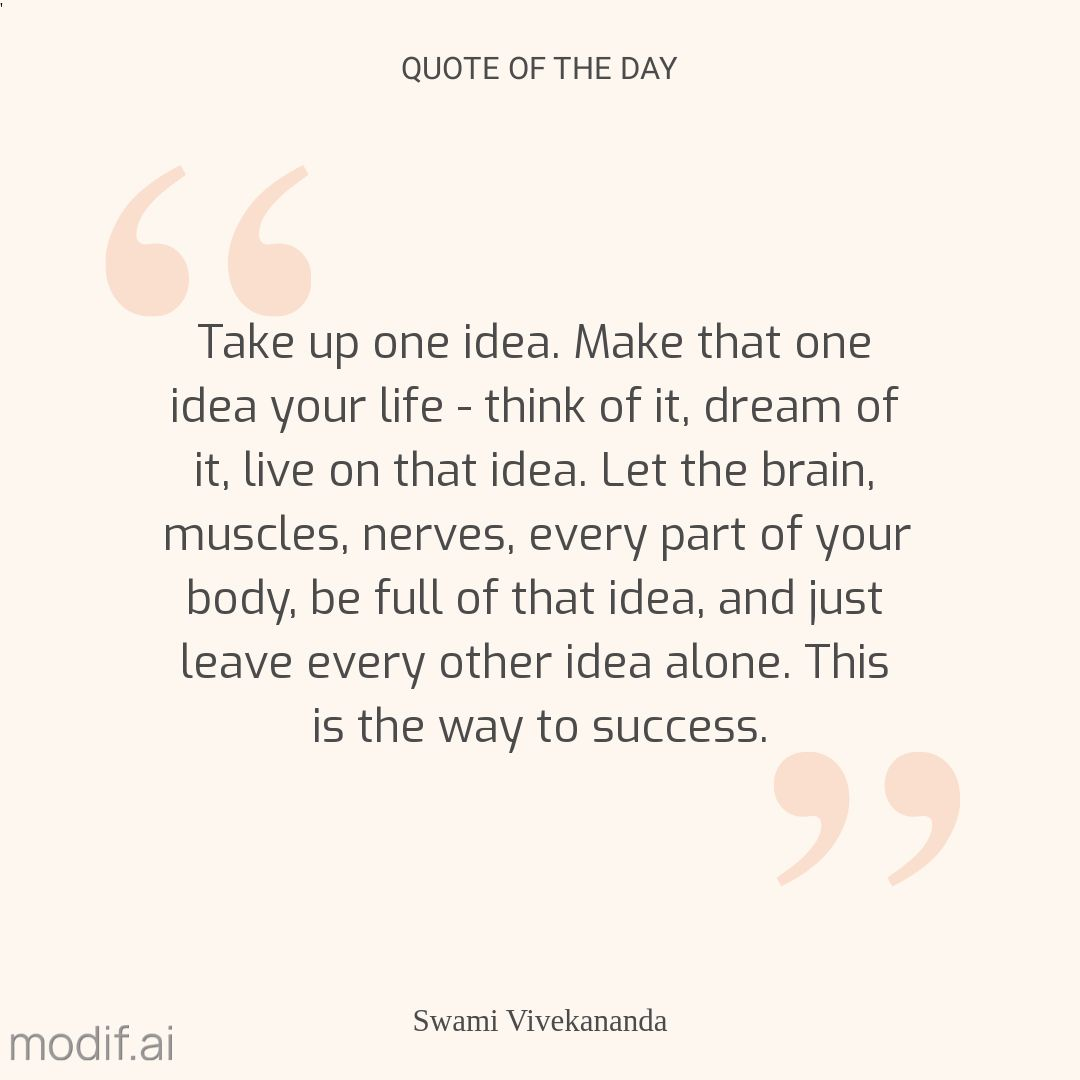 Motivation Quote Instagram Post Template