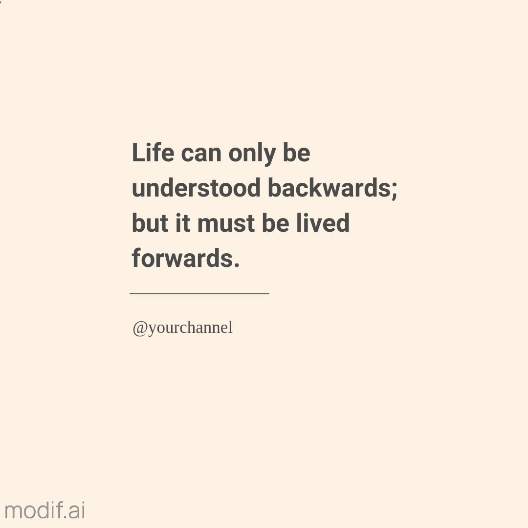 Life Quote Instagram Post Template