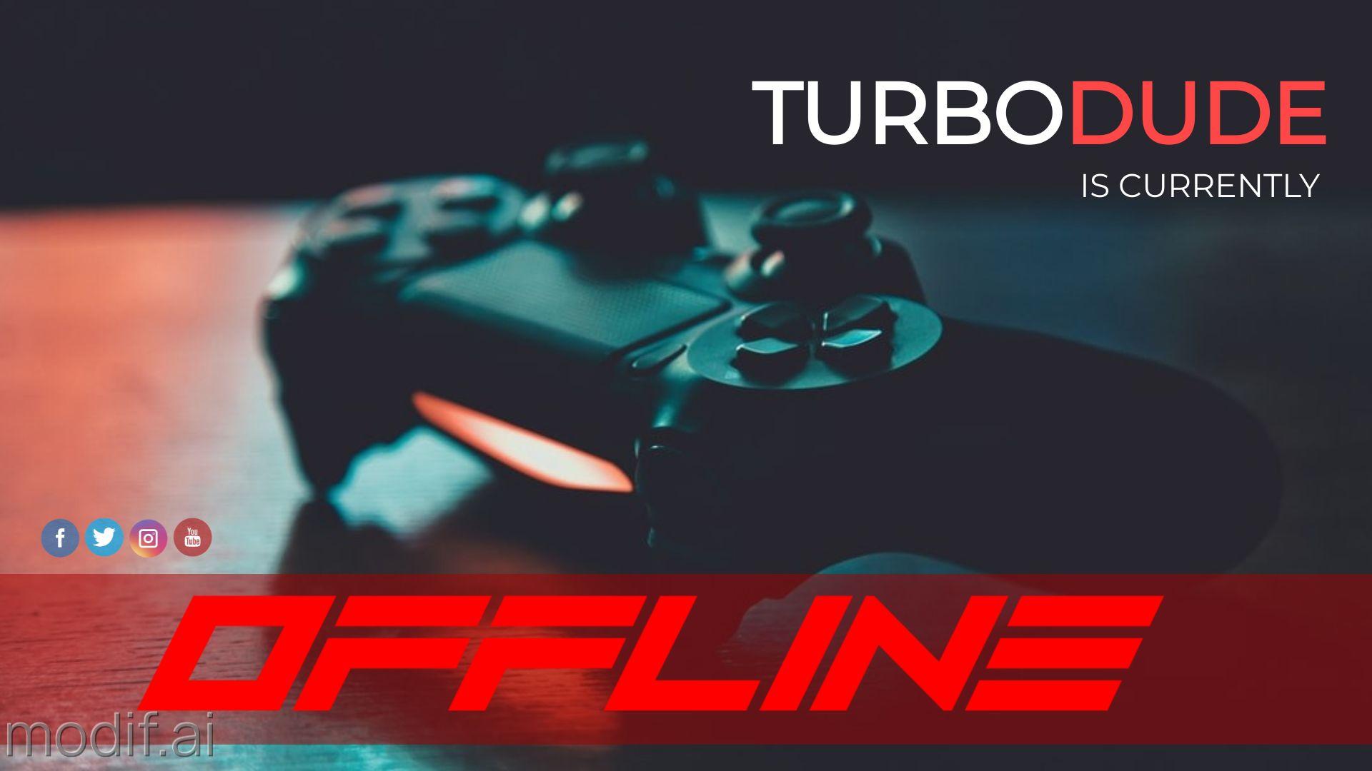Console Twitch Offline Background