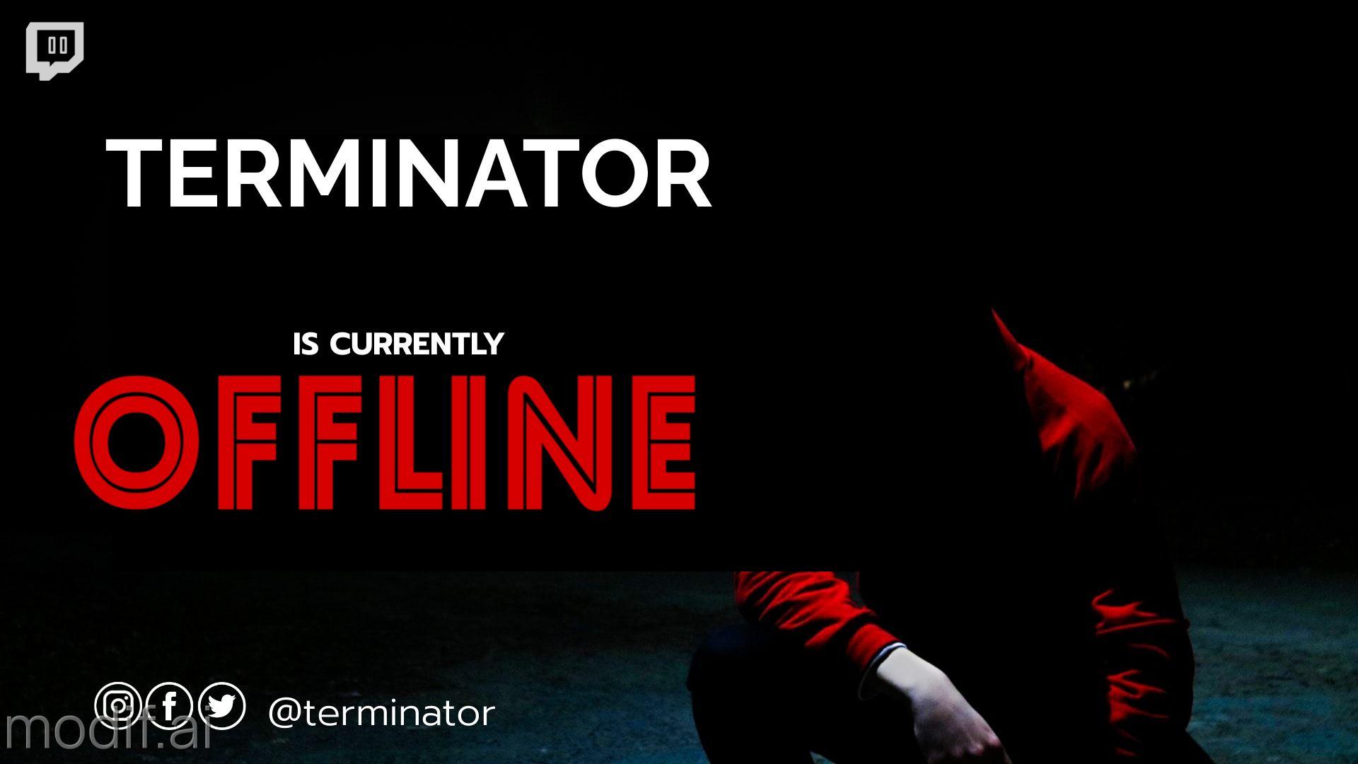 Dark Twitch Offline Banner Maker