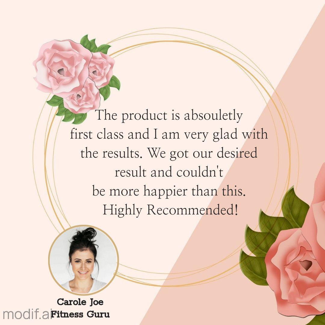 Positive Review Testimonial Post