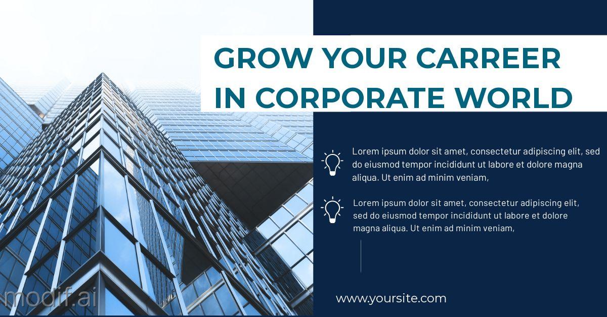 Business Career LinkedIn Post Template