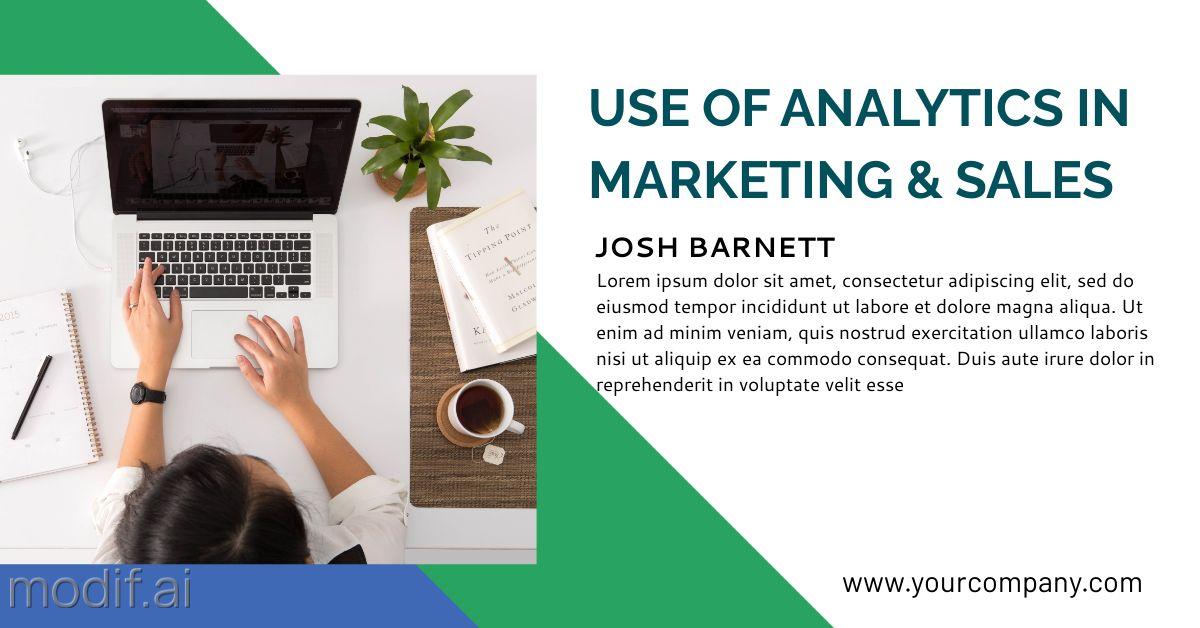 Marketing and Analytics LinkedIn Post Template