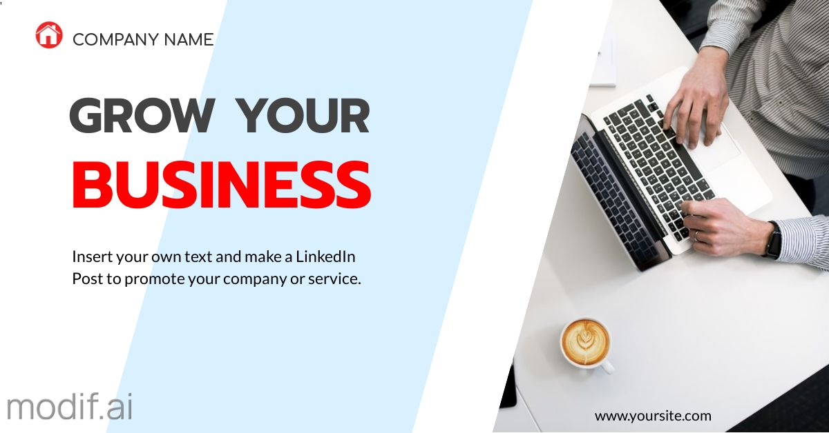 Business Promotion LinkedIn Post Template