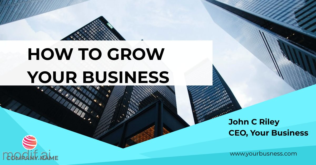 Grow Business LinkedIn Post