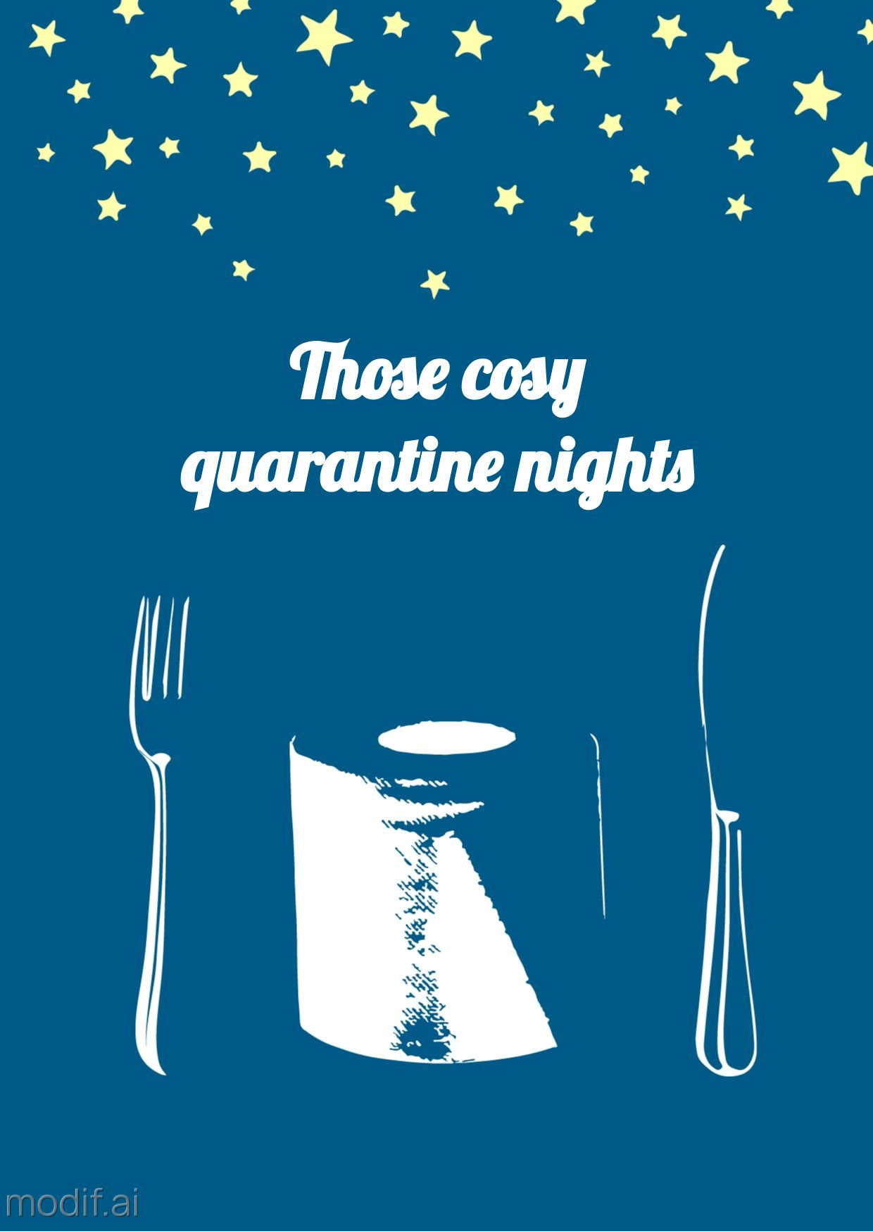 Quarantine Nights Greeting Card
