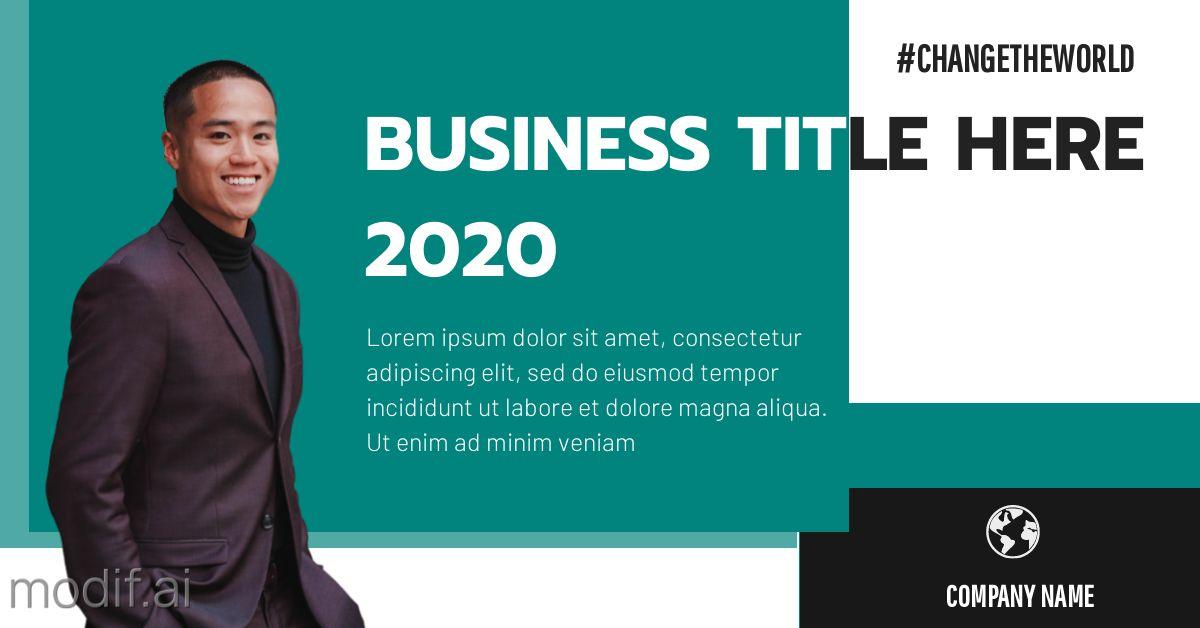 Business Event LinkedIn Post