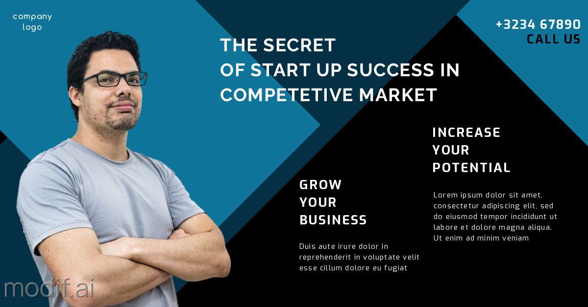 Business Startup Training LinkedIn Post Template