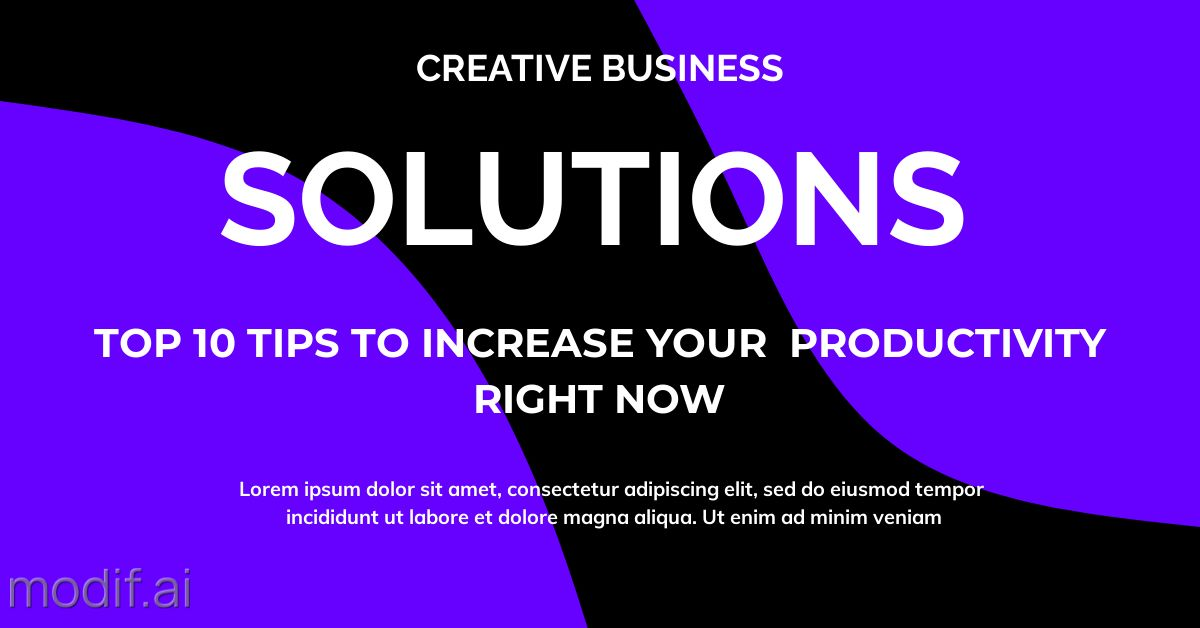 Business Solutions LinkedIn Post Template