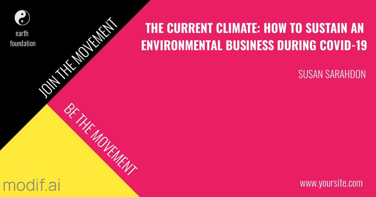 Climate Change LinkedIn Post Template