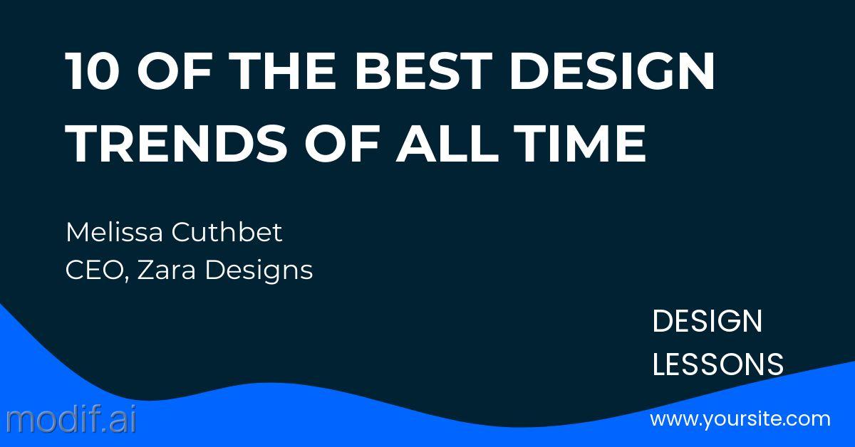Design Trends LinkedIn Post Template