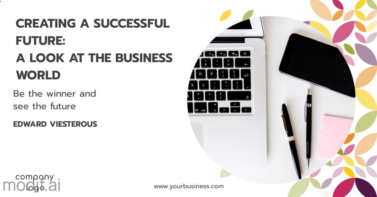 Business Success LinkedIn Post Template