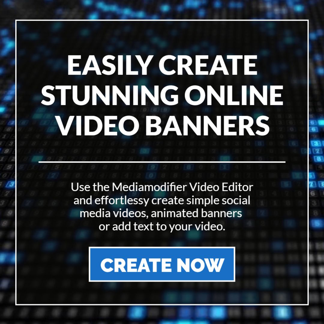 Animated Video Banner Template