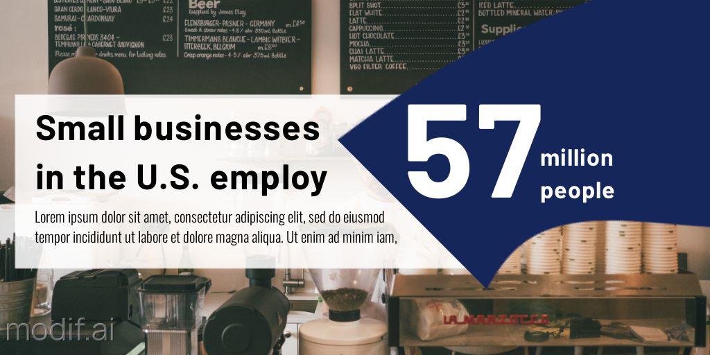 Business Statistics LinkedIn Post Template