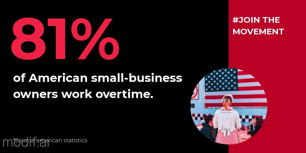 Small Business Statistics Post Template