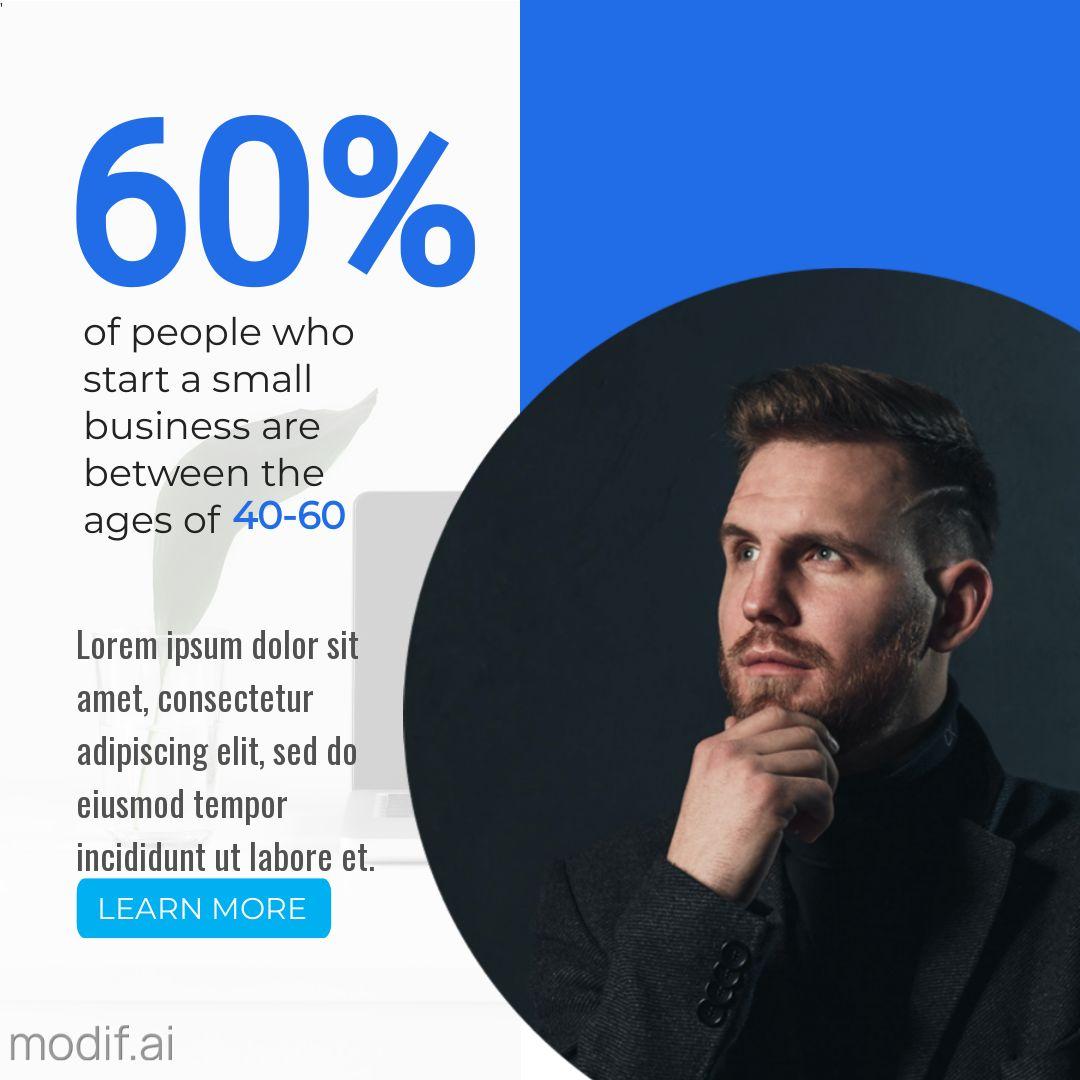 Entrepreneur Statistics Post Template