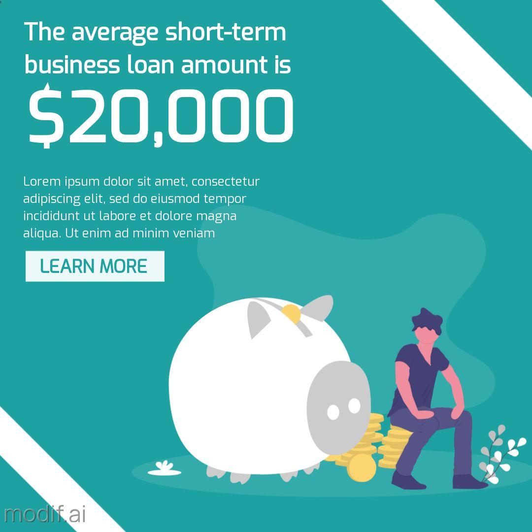 Business Loan Statistics Post Template