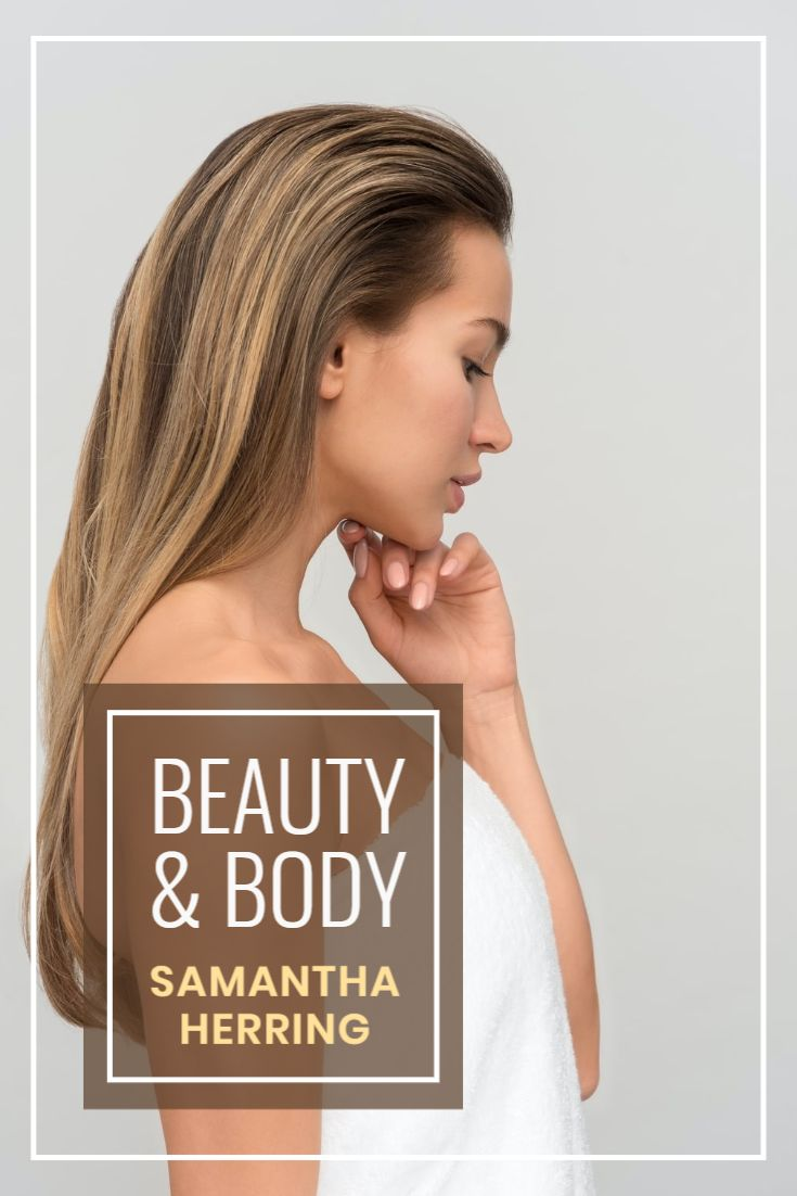 Beauty and Body Pinterest Pin Template