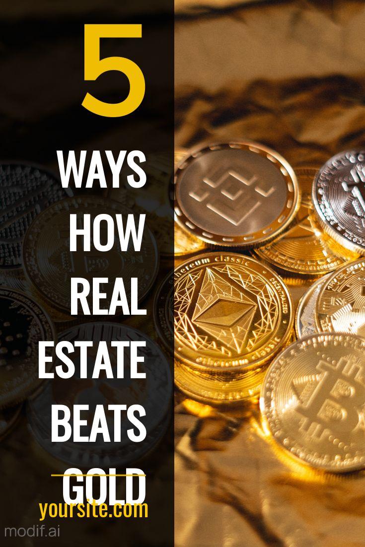 Animated Real Estate vs Gold Design