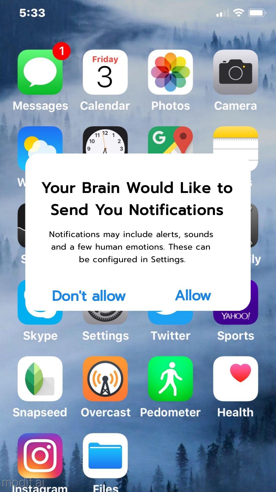 iPhone Notification Instagram Story Maker