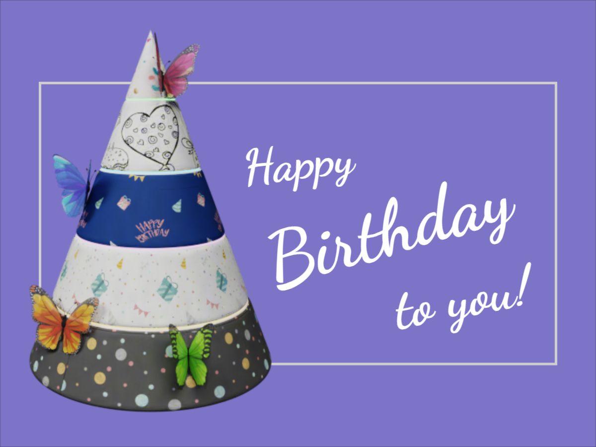 Birthday Greetings Facebook post