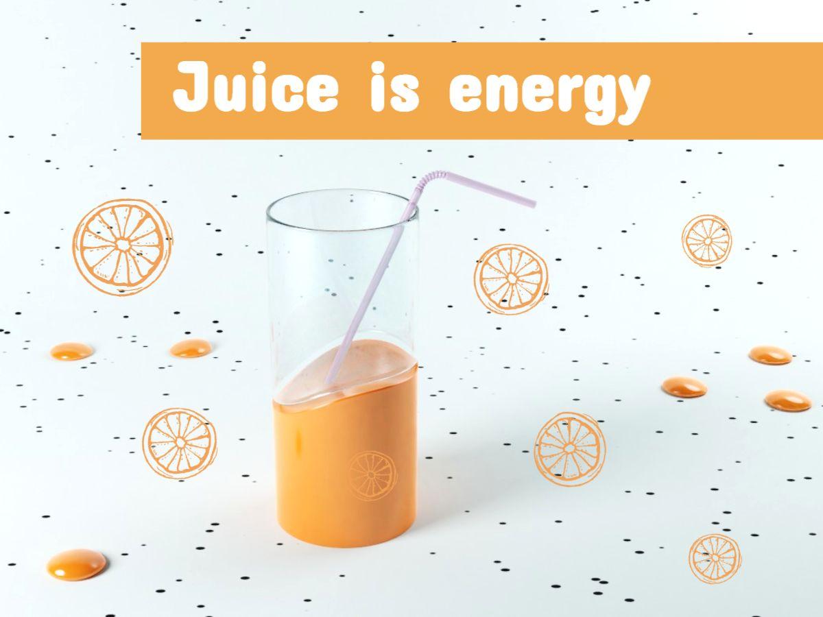 Orange Juice Facebook Post