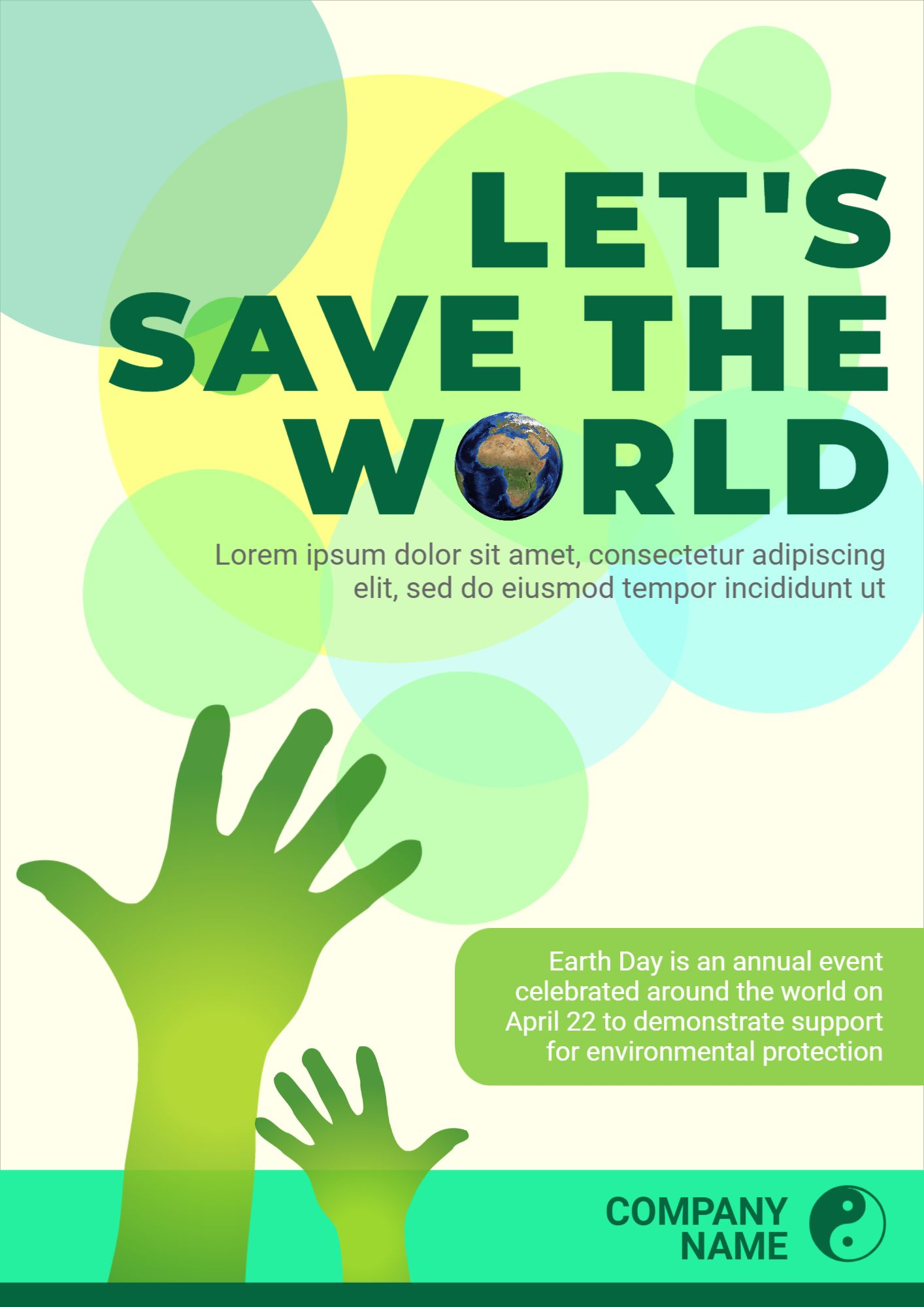 Earth Day Event Poster Maker