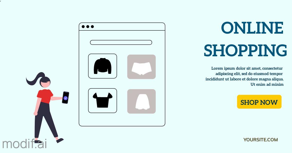 Twitter Online Shopping Promotion