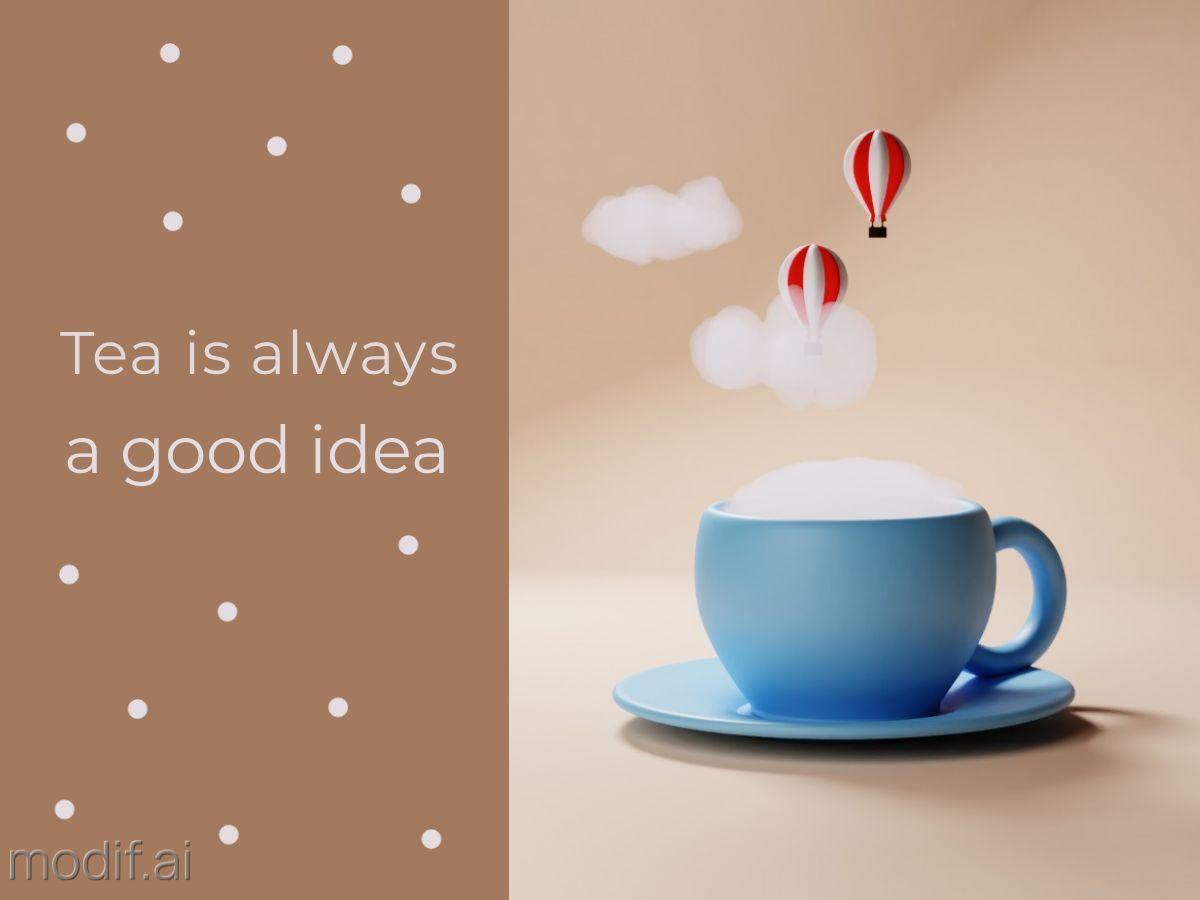 Tea and Adventure Facebook Post